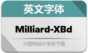 Milliard-ExtraBold(英文字体)