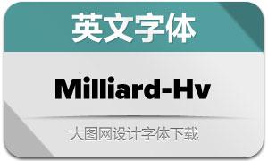 Milliard-Heavy(英文字体)