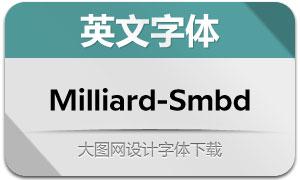 Milliard-SemiBold(英文字体)