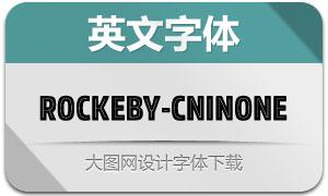 Rockeby-CnInOne(英文字体)