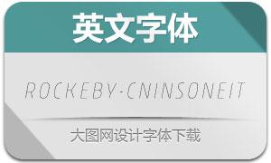 Rockeby-CnInsOneIt(英文字体)