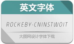 Rockeby-CnInsTwoIt(英文字体)