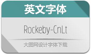 Rockeby-CnLt(英文字体)