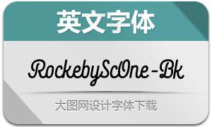 RockebyScOne-Black(英文字体)