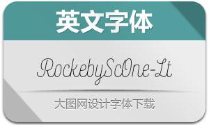 RockebyScOne-Light(英文字体)