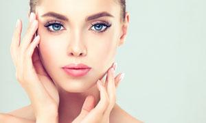 护肤美颜主题美女人物摄影高清图片