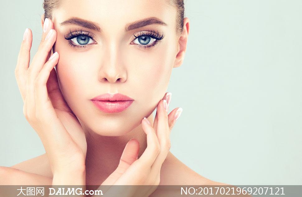 关 键 词: 高清大图图片素材摄影人物美女女人女性模特写真妆容美妆