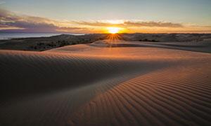 天空云彩山峦沙漠风光摄影高清图片