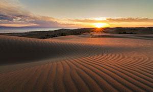 大海山峦沙漠自然风光摄影高清图片