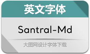 Santral-Medium(英文字体)