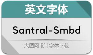 Santral-SemiBold(英文字体)
