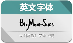 BigMom-Sans(英文字体)