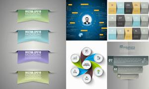 多种展现方式的信息图创意矢量素材