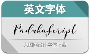 PadukaScript(英文字体)
