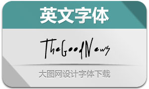 TheGoodNews(英文字体)