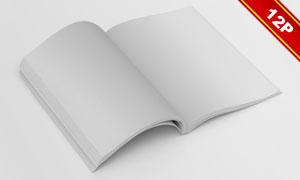 杂志画册实景应用效果图贴图源文件