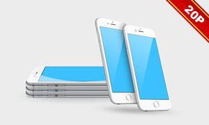 iPhone 6主题贴图模板设计源文件