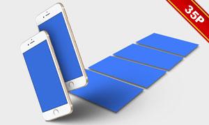 全色系iPhone 6s贴图模板设计素材