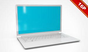 三星笔记本电脑效果展示贴图模板