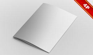 画册展开效果贴图模板设计源文件
