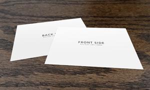 五种规格明信片正反面贴图模板素材
