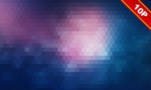 几何元素朦胧效果背景创意高清图片