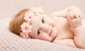 肥嘟嘟的可愛寶寶寫真攝影高清圖片