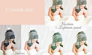 5款新生儿甜美暖色效果LR预设