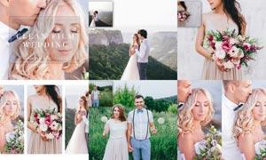 婚礼随拍照片后期暖色效果LR预设