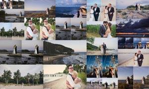 婚礼照片复古胶片艺术效果LR预设
