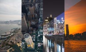 4款景观建筑复古大气效果LR预设