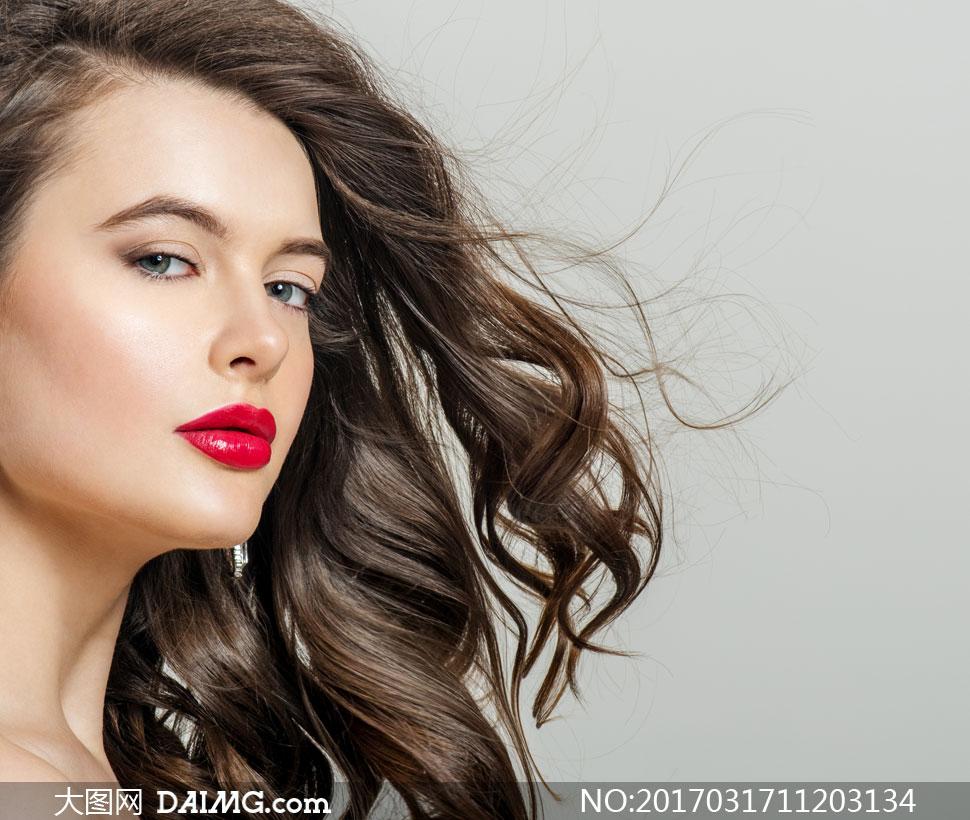 词: 高清摄影大图图片素材人物人像美女女人女性模特写真人像化妆妆容