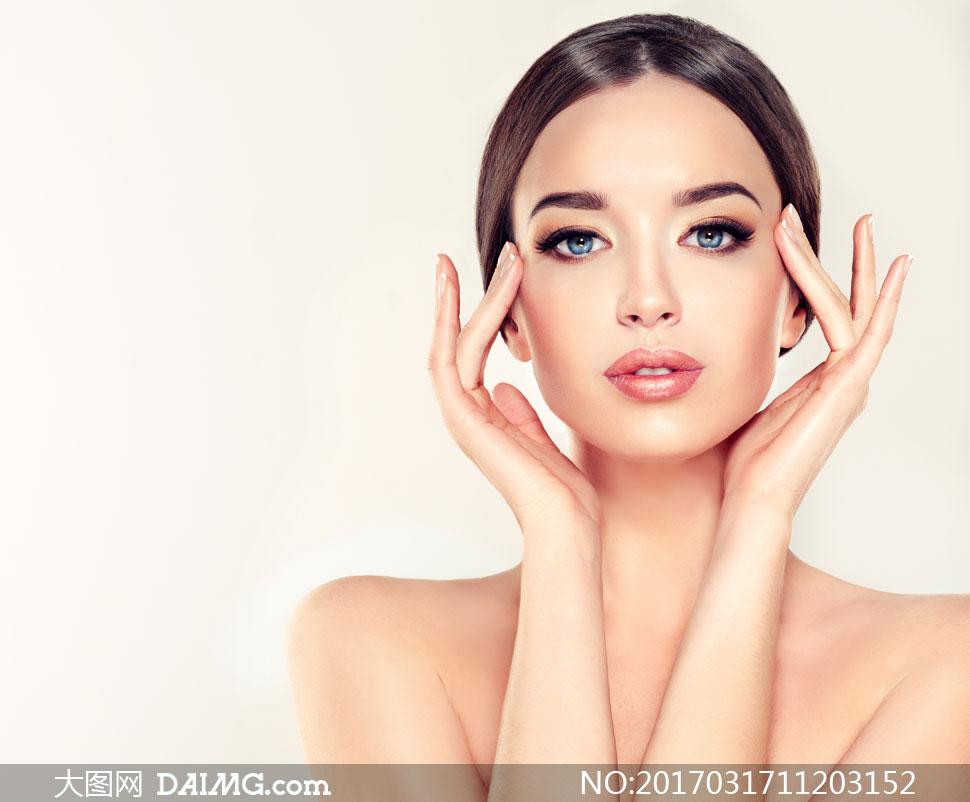 美容化妆护肤美女人物摄影高清图片