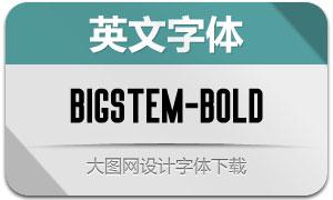 BigStem-Bold(英文字体)