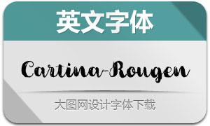 Cartina-Rougen(英文字体)