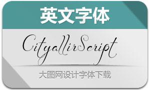 CityallirScript(英文字体)