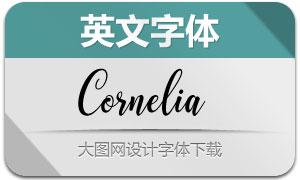 Cornelia(英文字体)