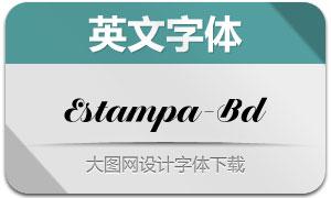 EstampaScript-Bold(英文字体)