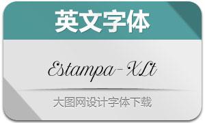 EstampaScript-ExtraLight(字体)