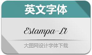 EstampaScript-Light(英文字体)