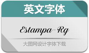 EstampaScript-Regular(英文字体)