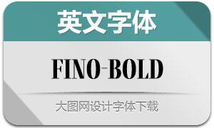 Fino-Bold(英文字体)