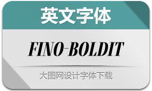 Fino-BoldItalic(英文字体)