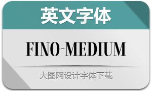 Fino-Medium(英文字体)