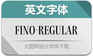 Fino-Regular(英文字体)