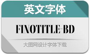 FinoTitle-Bold(英文字体)