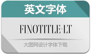 FinoTitle-Light(英文字体)