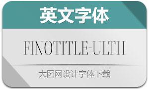 FinoTitle-UltraThin(英文字体)