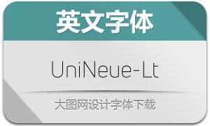 UniNeue-Light(英文字体)