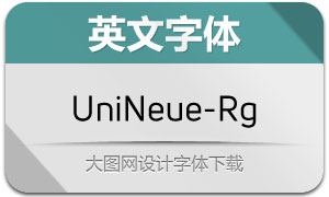 UniNeue-Regular(英文字体)